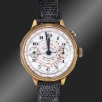 Eberhard & Co. Or jaune 40mm Remontage manuel occasion France, Paris