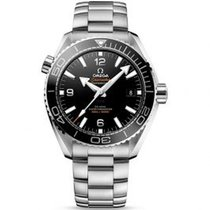 Omega Seamaster Planet Ocean Steel 43.5mm Black Arabic numerals United States of America, Pennsylvania, Holland