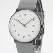 Junghans max bill Quartz Steel 38mm White Arabic numerals