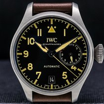 IWC Big Pilot Titan 46mm Černá Arabské