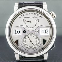 A. Lange & Söhne Zeitwerk Platinum 44.2mm Silver United States of America, Massachusetts, Boston