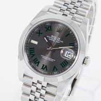 Rolex Datejust Stahl 41mm Grau Deutschland, Weißenhorn