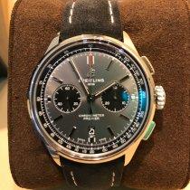 Breitling Steel 42mm Grey No numerals