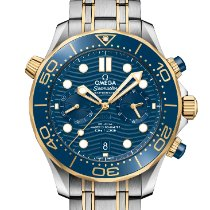 Omega Seamaster Diver 300 M Gold/Steel 44mm Blue United States of America, New York, New York