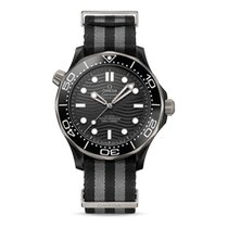 Omega Seamaster Diver 300 M Ceramic 43.5mm Black United States of America, New York, New York