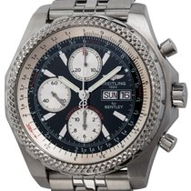 Breitling Bentley GT Сталь 44mm Черный
