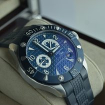 Zenith Defy Stahl 43mm Blau Arabisch