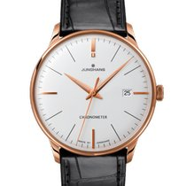 Junghans Meister Chronometer Gold/Steel 38mm Champagne No numerals