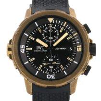 IWC Aquatimer Chronograph Bronz 44mm Černá Bez čísel