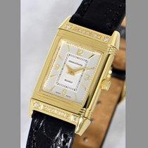 Jaeger-LeCoultre Reverso Dame Gelbgold 20mm Silber Arabisch Deutschland, Mannheim