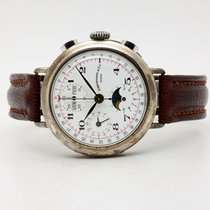Eberhard & Co. Silver Manual winding White 37mm pre-owned