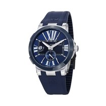 Ulysse Nardin Executive Dual Time Acier 43mm Bleu