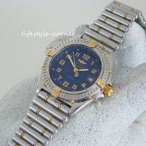Breitling Wings Lady Gold/Stahl 31mm Blau Arabisch