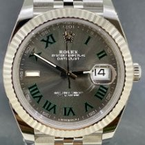 Rolex Datejust Acier 41mm Gris Romain