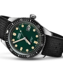 Oris Divers Sixty Five Steel 42mm Green United States of America, Pennsylvania, Uniontown