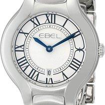 Ebel Stahl 30mm Quarz 1216037 neu
