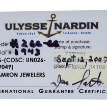 Ulysse Nardin Parts/Accessories pre-owned