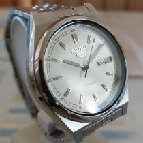 Seiko 5 Steel 37mm White