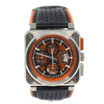 Bell & Ross BR 03-94 Chronographe pre-owned 42mm Transparent Leather