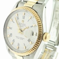 Rolex Oyster Perpetual Date Acero y oro 34mm Champán Sin cifras Argentina, buenos aires