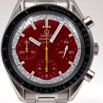 Omega Speedmaster Reduced Steel 39mm Red No numerals United States of America, New York, New York