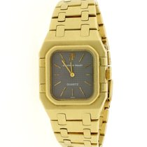 Audemars Piguet Yellow gold Quartz Grey 24.5mm pre-owned Royal Oak