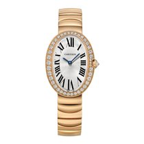 Cartier Baignoire Rose gold 31.6mm Silver United States of America, Connecticut, Greenwich