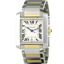 Cartier Tank Française Gold/Steel 27mm Silver United States of America, New York, NY