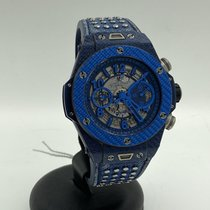 Hublot Big Bang Unico Carbon 45mm Transparent Arabic numerals