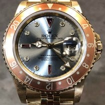 Rolex Yellow gold Automatic 40mm pre-owned GMT-Master