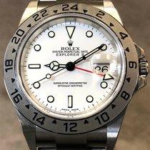 Rolex Explorer II neu 2000 Automatik Uhr mit Original-Box 16570