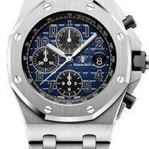 Audemars Piguet Royal Oak Offshore Chronograph Platin Blau