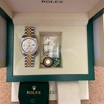 Rolex Datejust Gold/Steel 36mm Silver Arabic numerals UAE, Dubai