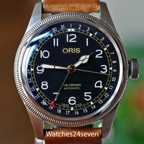 Oris Big Crown Acero 20mm Negro