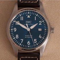 IWC Pilot Mark Staal 40mm Blauw Arabisch Nederland, Amstelveen