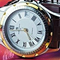 Schwarz Etienne Gold/Stahl 35mm Automatik 821502 gebraucht
