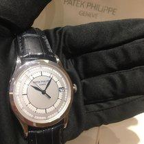 Patek Philippe Calatrava White gold 38mm Silver No numerals Malaysia, KUALA LUMPUR