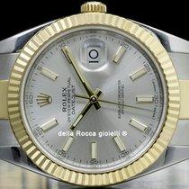 Rolex Datejust II Gold/Steel 41mm Silver