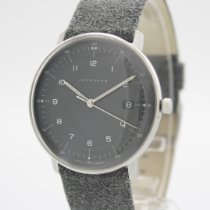 Junghans max bill Quarz Acier 38mm Gris Arabes