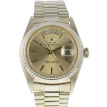 Rolex Or jaune Remontage automatique 36mm occasion Day-Date 36