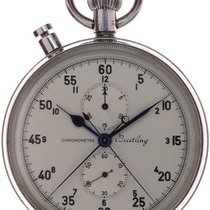 Breitling Watch pre-owned 1963 Steel 65mm Arabic numerals Watch only