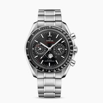 Omega Speedmaster Professional Moonwatch Moonphase Acero 44.25mm Negro