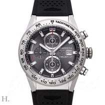 TAG Heuer CAR208Z.FT6046 Titanium Carrera Calibre HEUER 01 43mm new