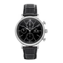 IWC Portofino Chronograph Steel 42mm Black No numerals United States of America, Pennsylvania, Bala Cynwyd