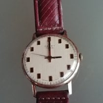Poljot Yellow gold Manual winding White 34mm pre-owned