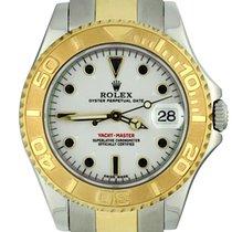Rolex Yacht-Master 168623 Неношеные Золото/Cталь 35mm Автоподзавод