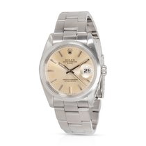 Rolex Oyster Perpetual Date Steel 34mm Champagne United States of America, New York, New York