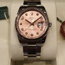 Rolex Oyster Perpetual Date Acier 34mm Rose France, CANNES