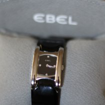 Ebel Beluga Steel 19mm Black No numerals United States of America, New York, STATEN ISLAND