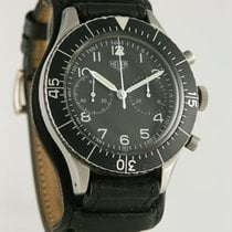 Heuer Steel 43mm Black